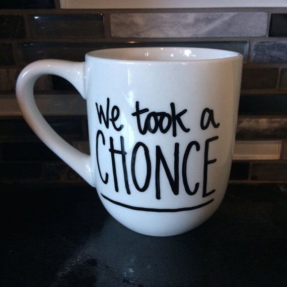 One Direction 18 We Took a Chonce Mug by OneMugDirection on Etsy