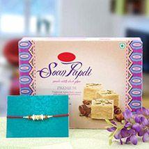 Soan Papri with Rakhi Wishes