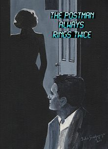 Hard Boiled detective in James M.Cains'  The Postman always rings twice