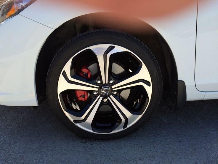 Honda Usa Cars >> 2015 Honda Civic SI. Red Caliper Paint. #jdm #honda #civic #red #calipers #streetcred | 2015 ...