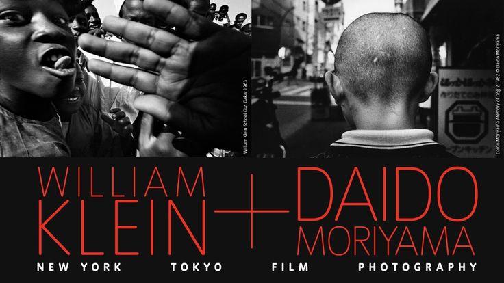 William Klein + Daido Moriyama exhibition banner