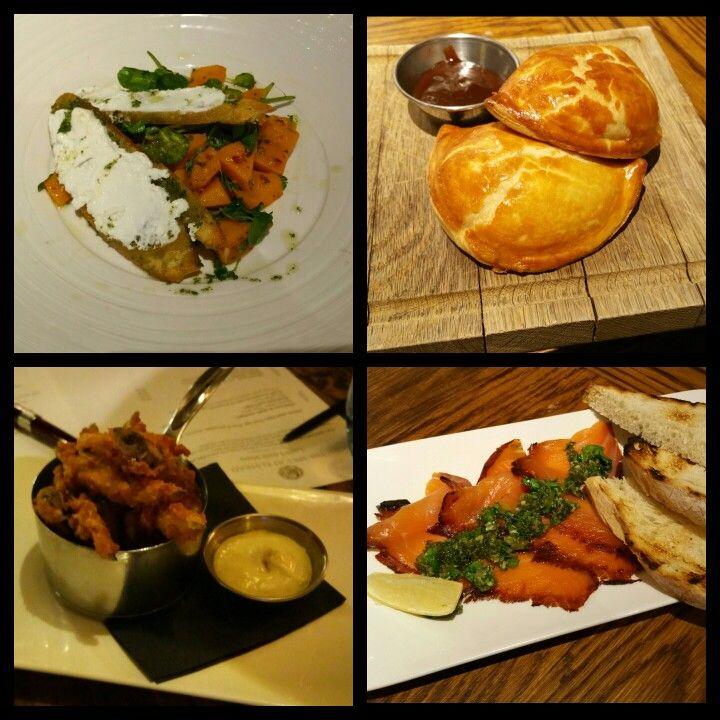 Autumn menu