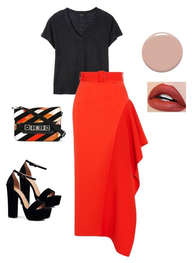 not crossing the border by alena-mr on Polyvore featuring polyvore fashion style Deby Debo Solace Boohoo Proenza Schouler Christian Louboutin clothing