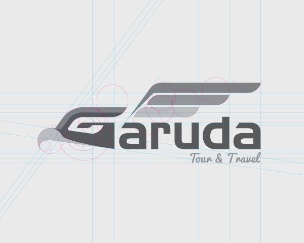 Garuda Tour - Logo Breakdown by Indra Permana, via Behance
