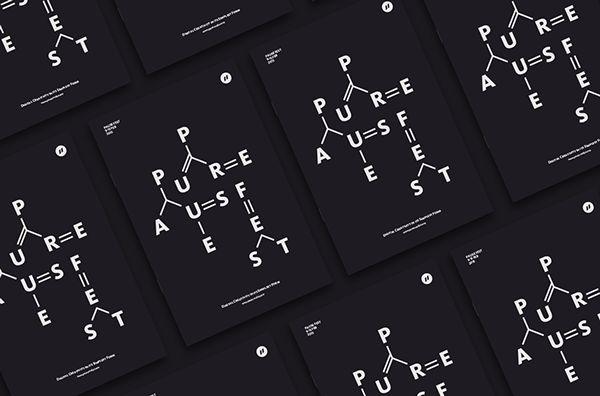 Pause Fest - Brochures #branding #graphicdesign