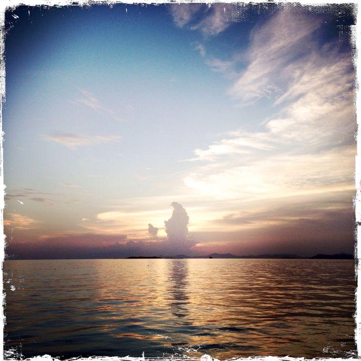 Sunset@ Kapalai