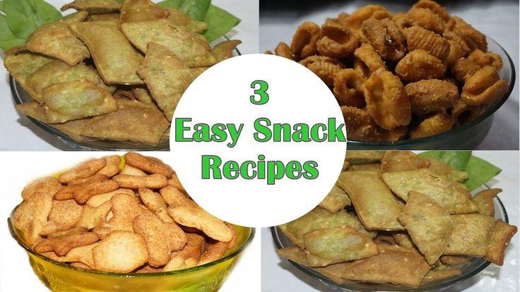 3 Easy snack recipes by siri@siriplaza