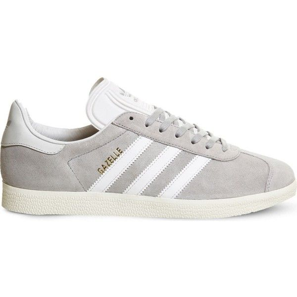 Adidas Gazelle suede trainers found on Polyvore featuring shoes, sneakers,  adidas, flats,