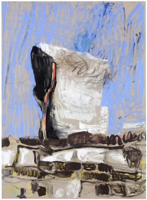 Gallery Kalhama & Piippo Contemporary | Anna Retulainen Sarjasta kuvitteellisia matkamuistoja, 2010, oil on canvas, 150 x 100 cm.