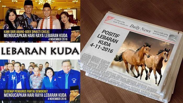 Lebaran Kuda ala SBY Mendadak Jadi Viral Heboh, Ini Dia Meme-Meme yang Jadi Obrolan Ramai