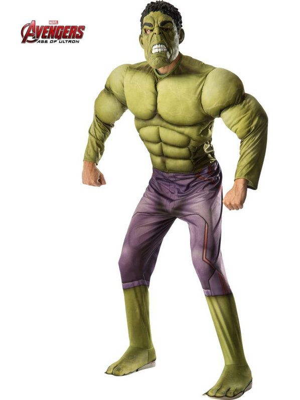 Check out Mens Avengers 2 Deluxe Hulk Costume - Superheroes Costumes from Costume Super Center