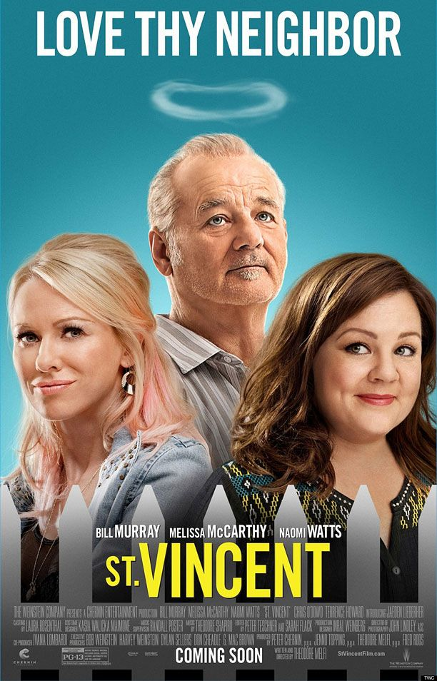Bill Murray looks like a god in the first 'St. Vincent' poster | Inside Movies | EW.com