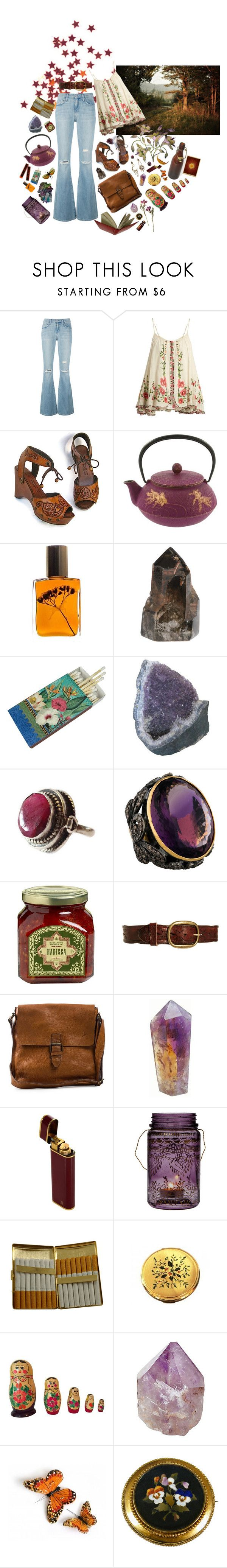 """""""Who she dreams of"""" by faelike ❤ liked on Polyvore featuring Current/Elliott, Mes Demoiselles..., Diego Percossi Papi, Flidais Parfumerie, Crate and Barrel, Pepe Jeans London, Boomerang, Cultural Intrigue, KING and Mapleton Drive"""