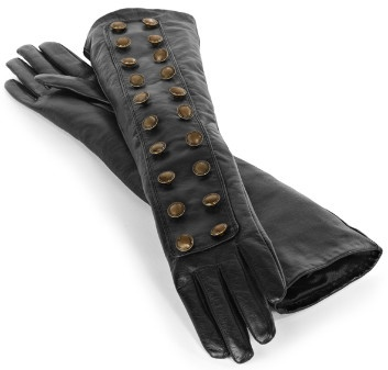 By Soft Surroundings. Great leather gloves.  On my wish list.