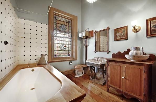 australian federation style bathroom - Cerca con Google