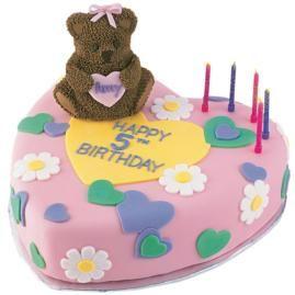 wilton 3d mini bear cake pan instructions