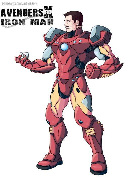 Avengers Xrd Civil War: Iron Man - Serg Shamaev