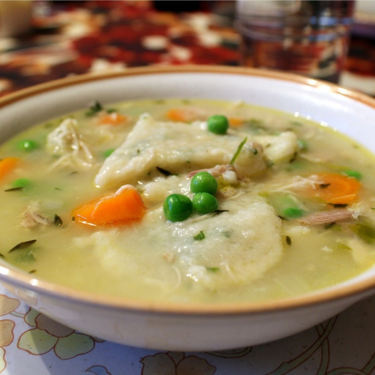 Meal Ideas With Chicken Noodle Soup: Easy, Home-made Chicken And Dumplings