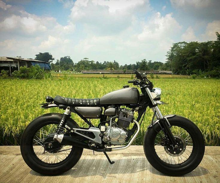 Inspirasi Motor Custom Japstyle Part 4 Cafe Racer Honda Cafe