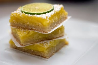 Lime Bars | Biscuits | Pinterest
