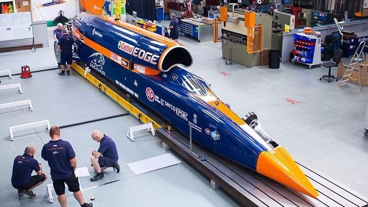 The British-led Bloodhound vehicle is scheduled to conduct some slow-speed trials in Newquay, Cornwall.