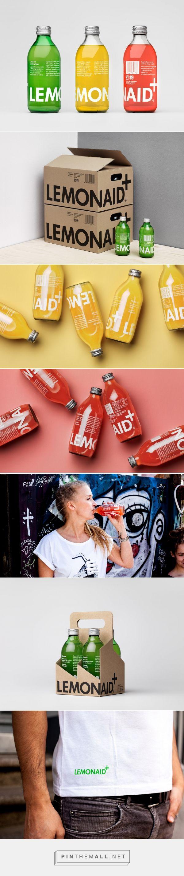 Lemonaid Brand Beverage Packaging by The Studio | Fivestar Branding Agency – Design and Branding Agency & Inspiration Gallery More