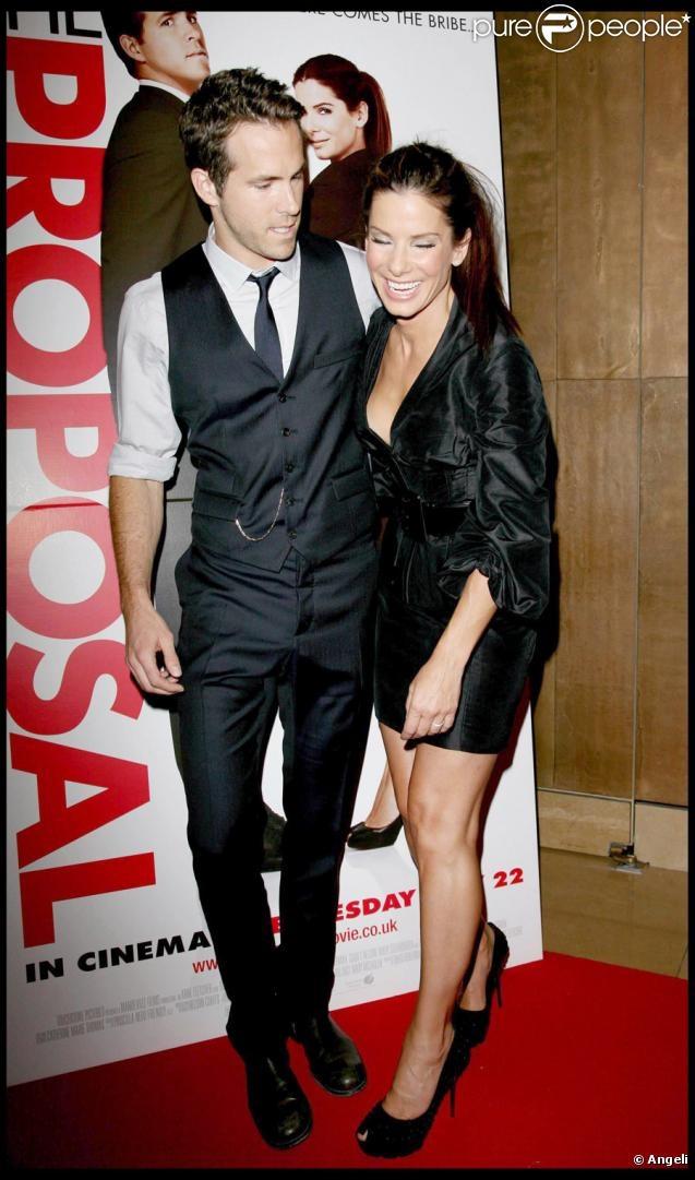 PHOTOS - Ryan Reynolds et Sandra Bullock lors de l'avant-première de The…