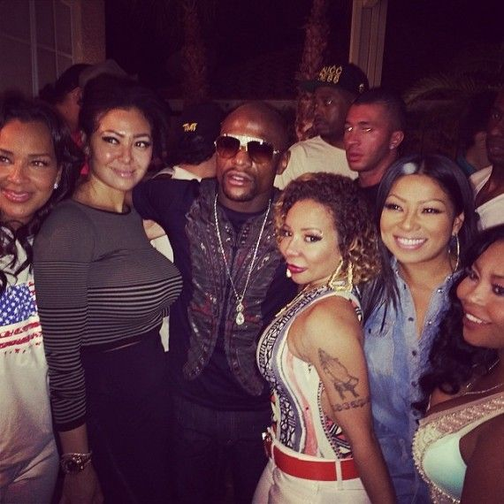 Floyd Mayweather Jr. Apologizes To T.I.'s Wife, But…