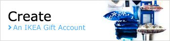 IKEA  Gift List Terms & Conditions | IKEA Gift Account