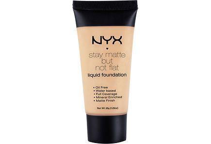 Stay Matte But Not Flat Liquid Foundation on nestemäinen meikkivoide, joka antaa…