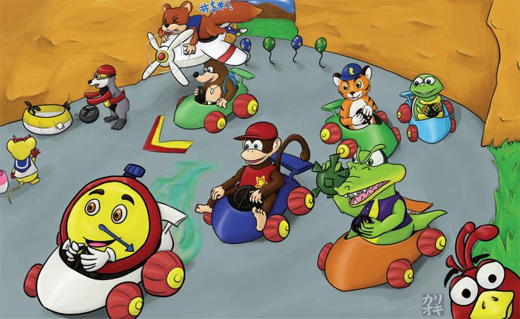 30 Best Images About Diddy Kong Racing On Pinterest