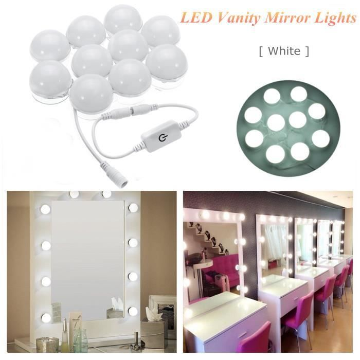 12 Elegant Coiffeuse Avec Miroir Lumineux In 2020 Vanity Mirror Led Vanity Hollywood Mirror With Lights