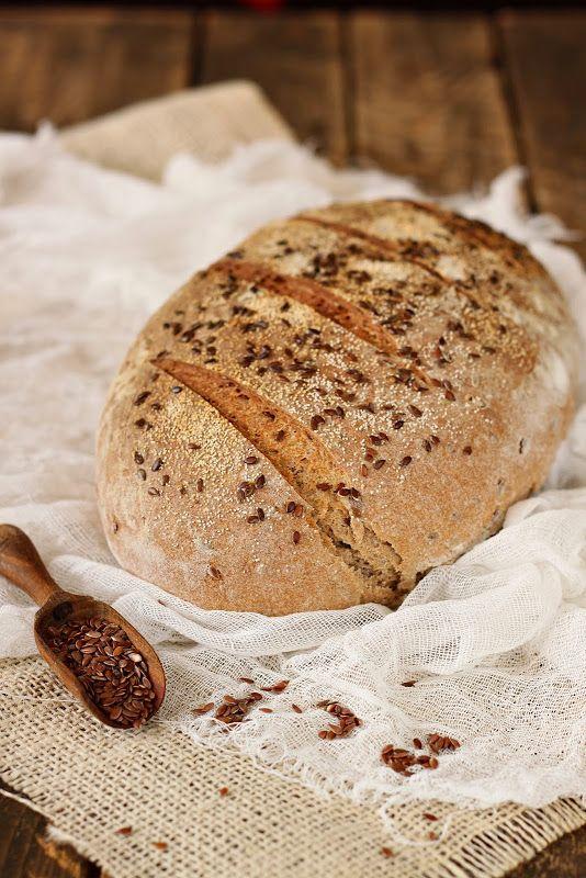 Сладкий мир - Хлеб с семенами льна