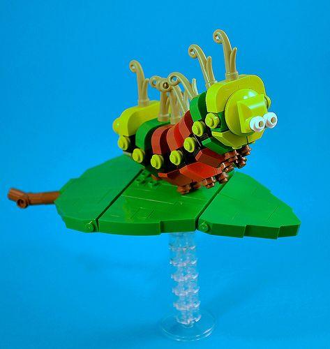 Caterpillar by captainsmog on Flickr