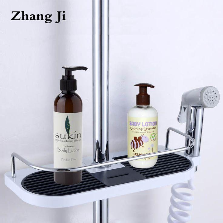 Bathroom Shampoo Storage Holder Tray Wall Mounted Plastic Shower Head Holder Adjustable Bathroom Shelves Soap Storage Shelf. Yesterday's price: US $28.00 (23.05 EUR). Today's price: US $12.88 (10.60 EUR). Discount: 54%.