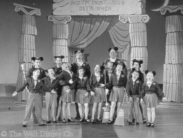 The original Mickey Mouse Club