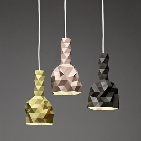 Faceture Lightshades by Phil Cuttance