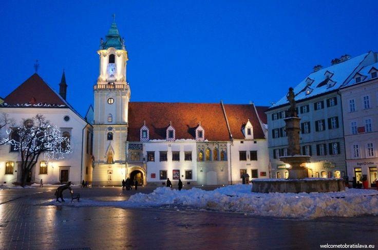 WINTER IN BRATISLAVA - WelcomeToBratislava | The Main square