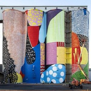 Wheatbelt silos by the incredibly talented @hensethename. Presented by @formwa for #public2015 !