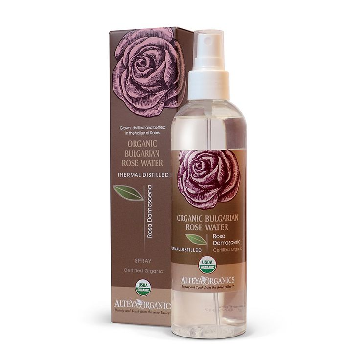 Organic Bulgarian Rose Water – Toner Mist – 250ml