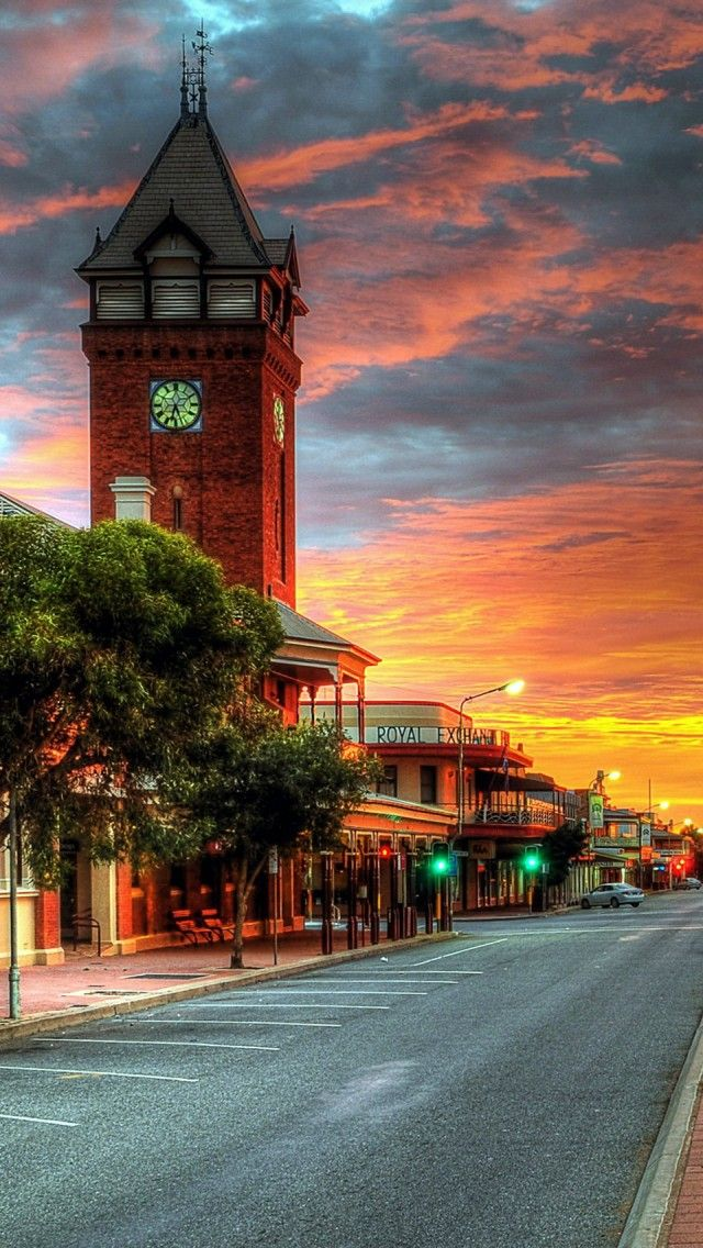Broken Hill Australia iPhone 5 wallpapers, backgrounds, 640 x 1136