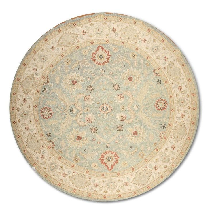 8 X Hand Knotted Round Persian Oriental 100 Wool Area Rug Soumak Flat
