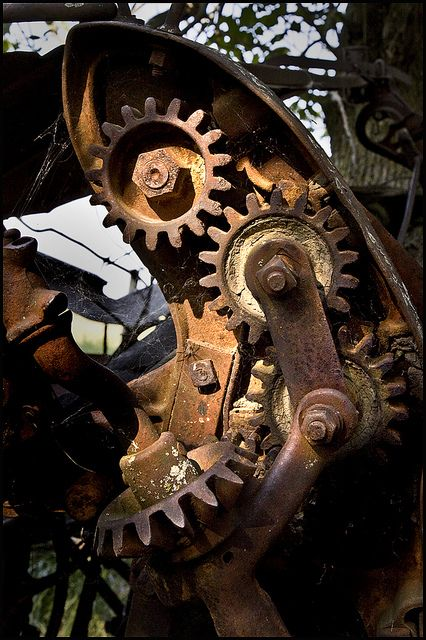 Love the old gears; I can do this!!