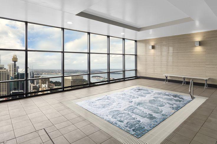 Spa on Level 61 #Sydney #Australia #Luxury #Hotels #HighRise #Meriton
