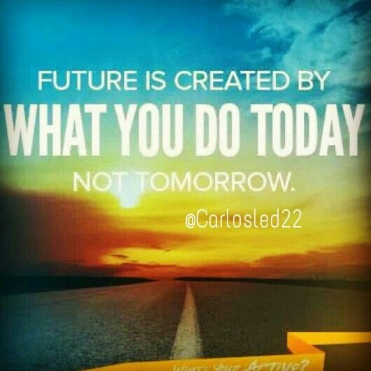 What You Do Today, Can Improve all your Tomorrows. Therefore Join us On the Next Challenge that starts December 2nd. Why wait till next year? Start now from your Home getting in the best shape of your life. You are going to have an Amazing Team to support you!! Message me for more details. www.Facebook.com/carlosled22