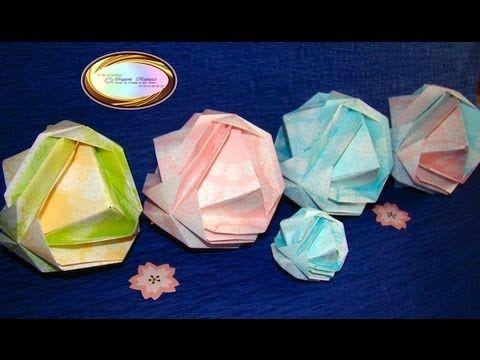 ▶ Origami Maniacs 113: Japanese Brocade - YouTube