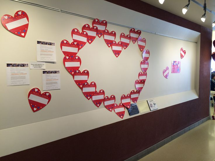 Southlake's Love Wall - stories of Southlake's Staff, Physicians, and Volunteers expressing their love for Southlake's Values