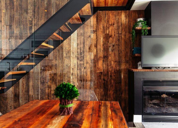Mur Design Bois De Grange : Mur Design Barn Wood
