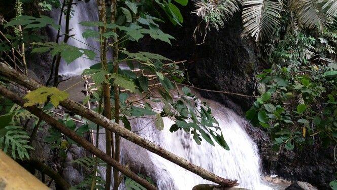 Bagbaobo waterfall, Samal island