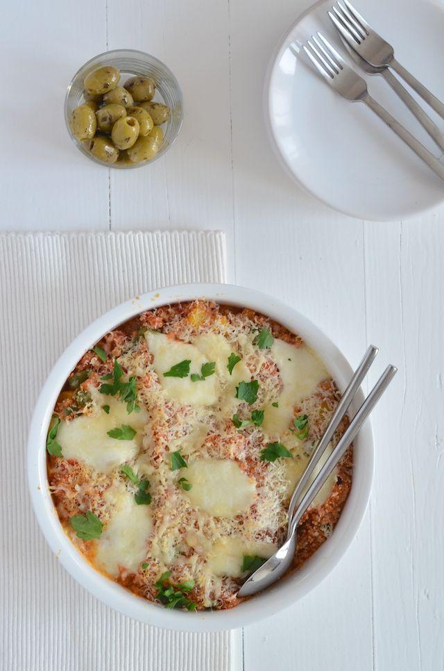 italiaanse quinoa ovenschotel #healthy #voedselzandloper